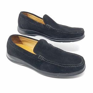 Cole Haan NIKE AIR black suede loafers 10.5M